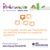 Be Medicinewise Week infographic - 1 in 5 Aussies look for medicines info on Facebook.jpg