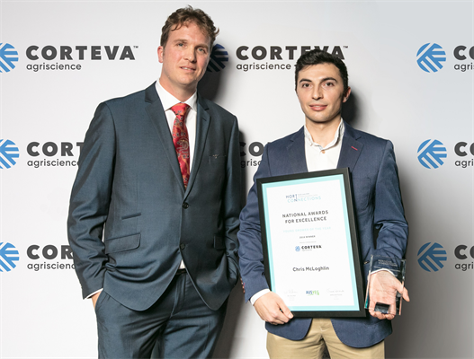 Nick_Koch_from_Corteva_Agriscience_with_Chris_McLoghlin__winner_of_the_2018_Young_Grower_of_the_Year_Award_Image_courtesy_of_AUSVEG.jpg