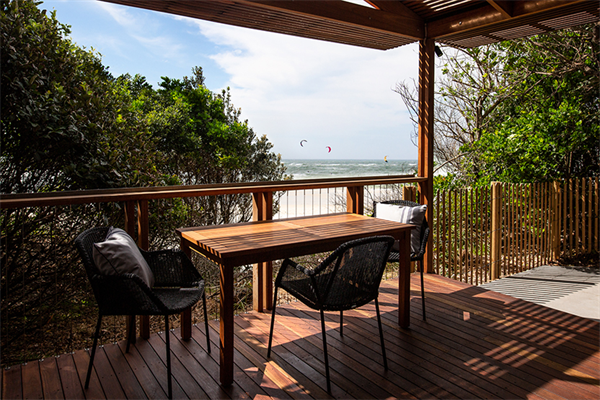 What a view! From new villas at Reflections Holiday Parks Clarkes Beach.jpg