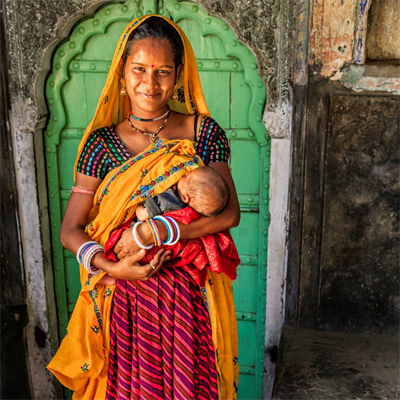 When you help a woman climb out of poverty, you also help her family and her community Photo Credit Caritas Aust.jpg