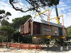Clarkes Beach cabins being relocated in time for the Sept School Holidays.jpg