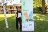 2019 Landcare ACT Awards held at the historic Lambrigg Gardens in Canberra 17th November 2019.  Dhani Gilbert (Aboriginal student leader) with the Austcover Young La.jpg
